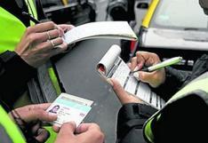 Callao: reportan más de 430 mil papeletas interpuestas a infractores de tránsito