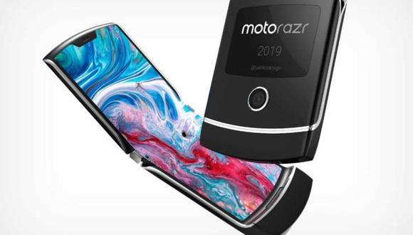 El celular sería lanzado antes de concluir el año y busca competir con el Galaxy Fold. (Foto: Twitter)