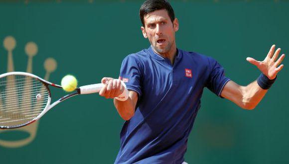 Novak Djokovic sufrió para debutar con triunfo en Montecarlo