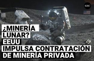 Minería lunar: NASA impulsa la contratación de minería privada para la extracción de minerales en suelo de la luna