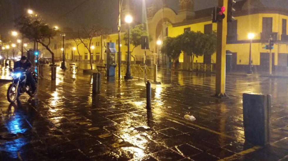 Vecinos reportaron intensa garúa en distritos de Lima y Callao - 1