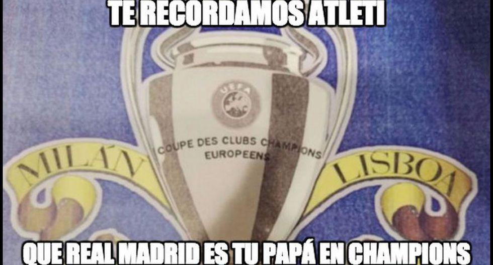 Real Madrid-Atlético de Madrid: así se comenta derbi con memes - 24