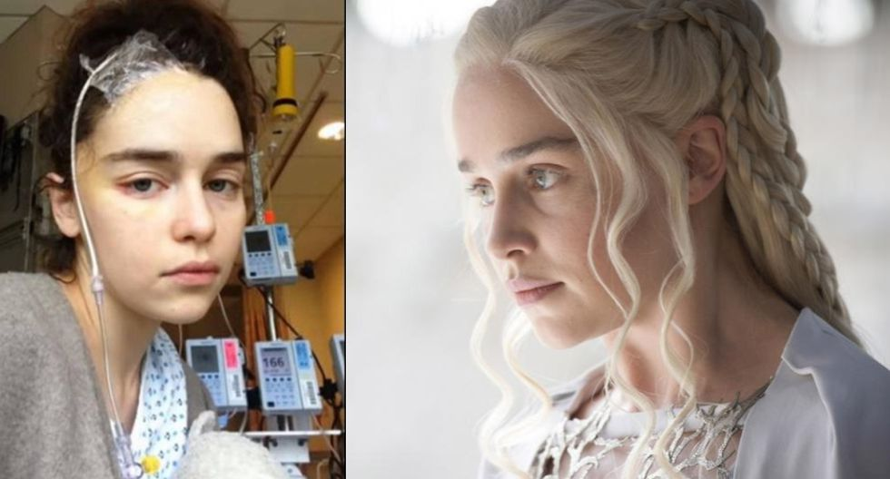 "Emilia Clarke interpreta al personaje de Daenerys Targaryen en ""Game of Thrones"" (Fotos: Instagran / Macall B. Polay/HBO)"