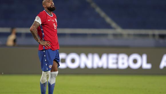 Chile consiguió su primer triunfo en la Copa América 2021. EFE/Andre Coelho