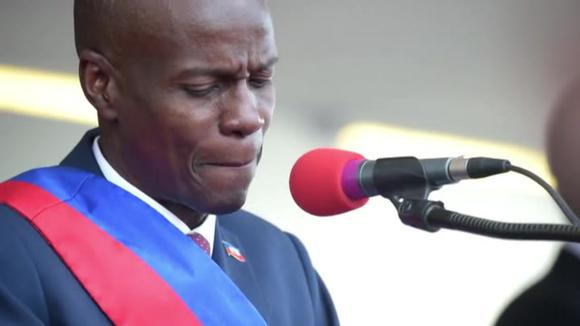JOVENAL MOIS: The Haitian president was assassinated at his home by armed commandos.