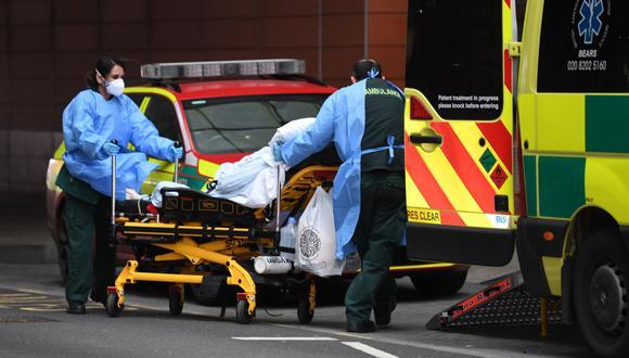 Coronavirus en Reino Unido | Últimas noticias | Último minuto: reporte de infectados y muertos hoy, lunes 1 de febrero del 2021. (Foto: DANIEL LEAL-OLIVAS / AFP).