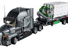 No te pierdas este camión convertido en un set de Lego