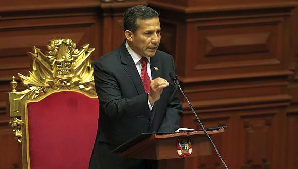 Castilla: Habrá dinero para los anuncios del mensaje de Humala