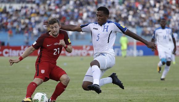 Estados Unidos igualó 1-1 ante Honduras de visita. (Foto: AP)
