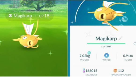 Pokémon Go: reportan aparición de los pokémones shiny