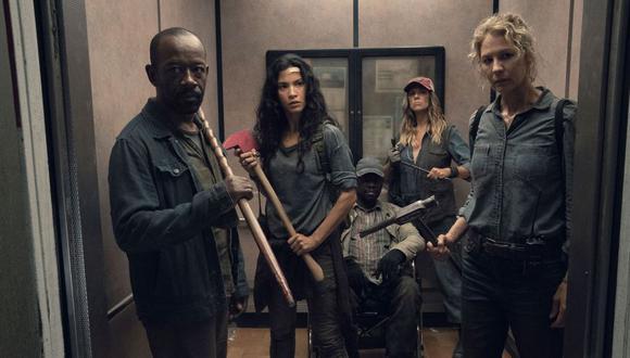"""""""Fear the Walking Dead"""" muestra los primeros días después del apocalipsis zombie. (Foto: AMC)"""