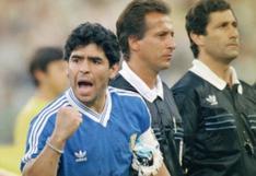 Mundial Italia 90: el día que Maradona y Comizzo se quedaron practicando tiros libres | VIDEO