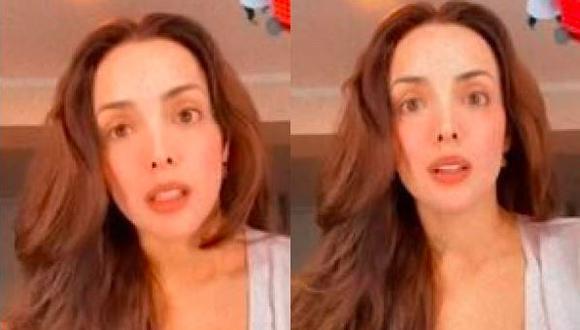 Rosángela Espinoza se sometió a prueba de COVID-19 tras presentar tos y fiebre. (Foto: Instagram)