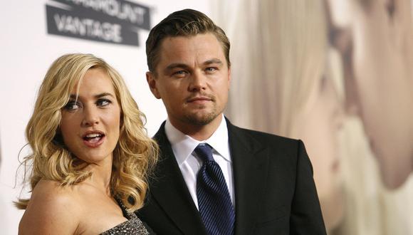 Kate Winslet y Leonardo DiCaprio. (Foto: AP)
