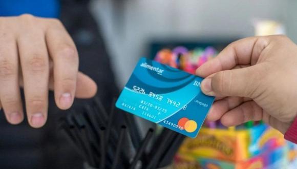 Los beneficiarios de la Tarjeta Alimentar física, ya pueden cobrar el mes de septiembre, mientras que los beneficiarios que cobran a través de transferencia bancaria, lo podrán hacer a partir del miércoles 22 de septiembre. (Foto: El Cronista)