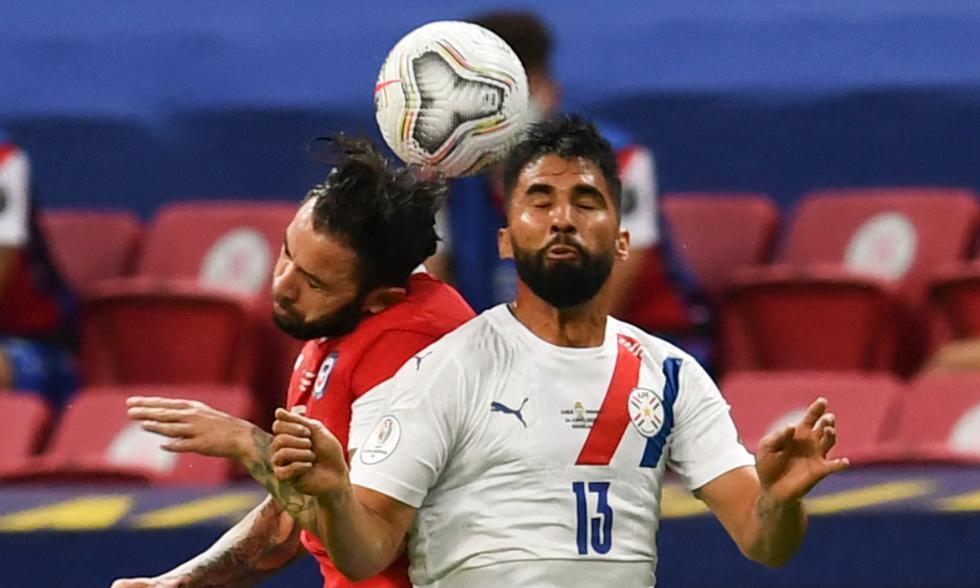 Chile vs. Paraguay jugaron por Copa América 2021. Foto: AFP