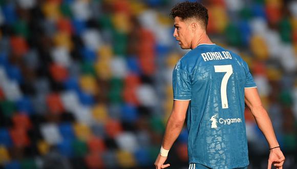 Cristiano Ronaldo se quedó sin opciones de ganar la Bota de Oro. (Foto: AFP)
