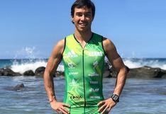 Triatleta Salvador Ruiz logra récord nacional en Mundial de Ironman en Hawái