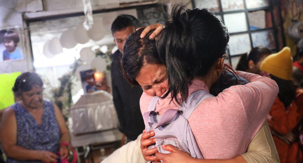 La niña fue reportada como desaparecida por sus padres el 11 de febrero. Su cuerpo sin vida fue hallado 4 días después en un tacho de basura. (Foto: EFE)