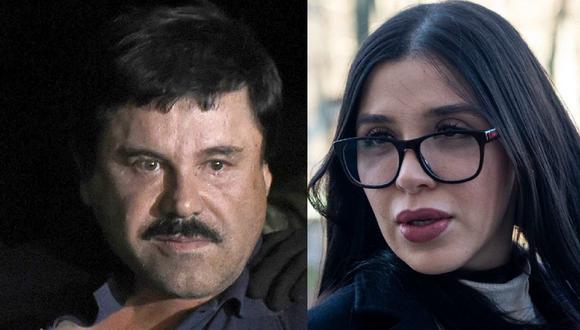 Juicio a El Chapo Guzmán: Los mensajes secretos con su esposa Emma Coronel y su amante Agustina Cabanillas, la 'Fiera'. (AFP).
