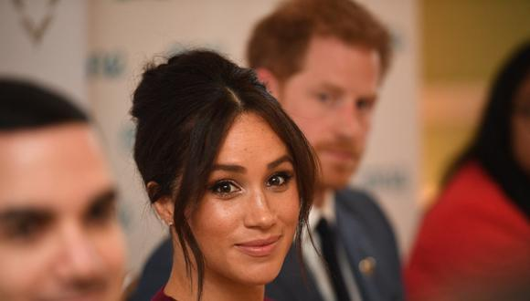Meghan de Sussex y el príncipe Harry. (Foto: AFP | Jeremy Selwyn)