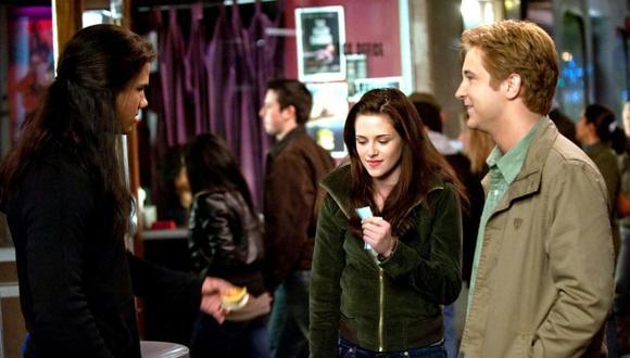 En las novelas Mike es otro rival para el afecto de Bella, aunque ella deja en claro que no es de su interés. En las películas no tiene mayor importancia (Foto: Summit Entertainment)