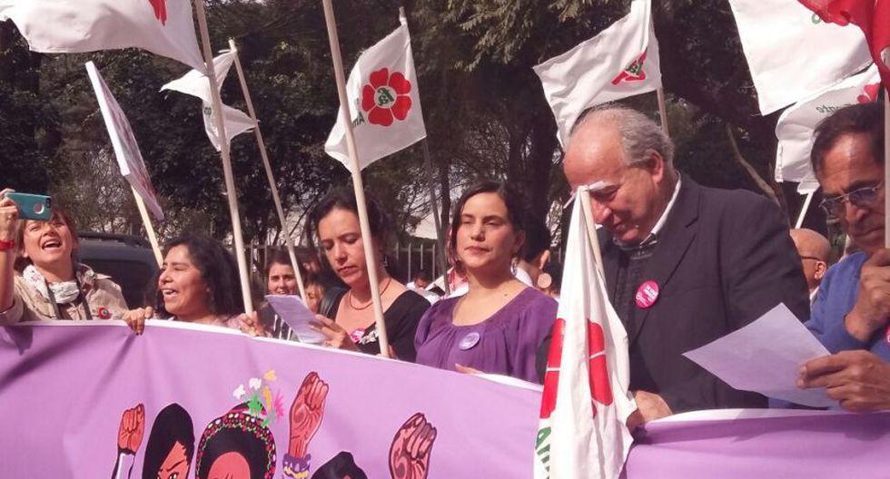 #NiUnaMenos: así se desarrolló la marcha en Lima [FOTOS] - 10