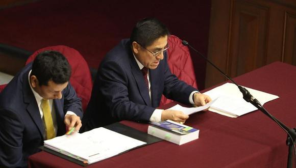Marco Arana y Gino Costa cuestionaron que la Comisión Permanente haya decidido rechazar acusar a César Hinostroza por pertenecer a una presunta organización criminal. (Foto: Rolly Reyna/ El Comercio)