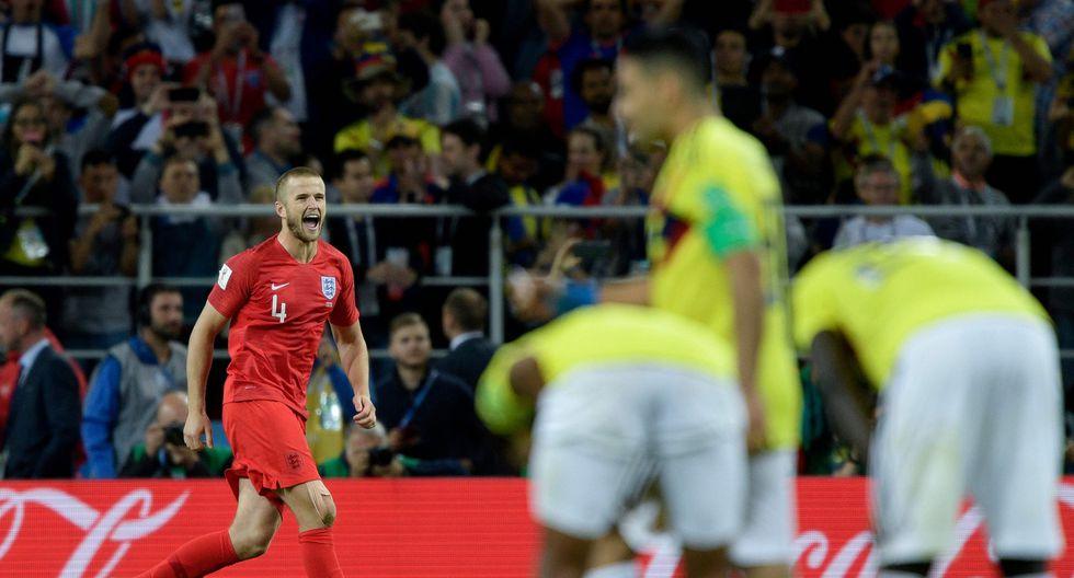 Colombia luchó demasiado para empatar el marcador ante Inglaterra en el minuto final del tiempo reglamentario. Sin embargo, los penales definieron su destino. Matheus Uribe y Carlos Bacca fallaron sus remates. (Foto: AFP)