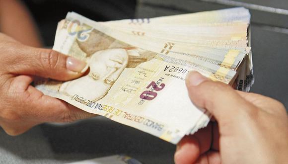 Una de las modalidades para cobrar el bono es el retiro en ventanilla. (Foto: GEC)