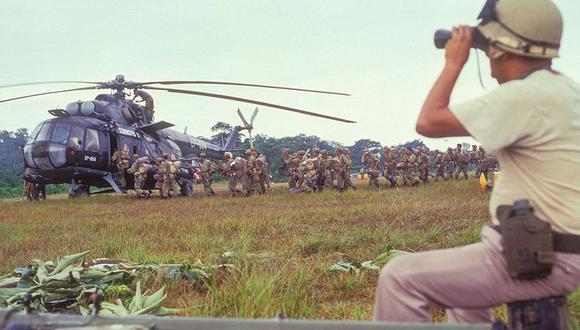 Comando Conjunto conmemoró los 26 años de la guerra del Cenepa | VIDEO (Foto: Rolly Reyna / El Comercio)