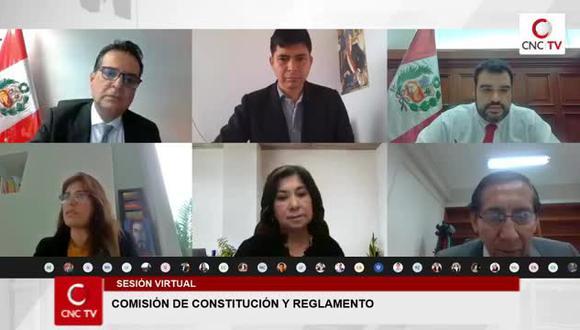 Son cuatro los dictámenes de la Comisión de Constitución que esperan ser agendados por la Junta de Portavoces para ser ratificados o rechazados en el pleno. La legislatura acaba la próxima semana.