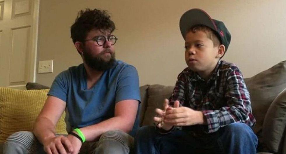 Al no tener padres y un hogar formal, Damien no era colocado en la parte superior de la lista de espera para un nuevo riñón. (Foto: captura KDVR)