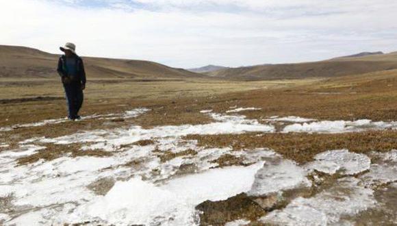 Senamhi prevé descenso de temperatura mínima en sierra del país