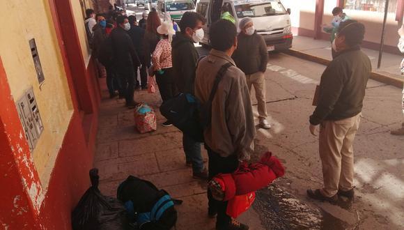 Hasta ahora, 509 personas que cumplieron cuarentena obligatoria por 14 días ya han retornado a sus casas. (Foto: Carlos Fernández)