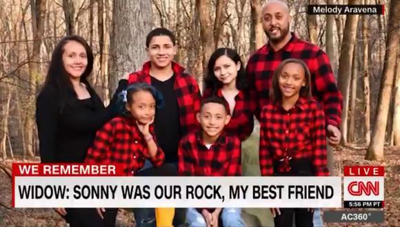 """Rolando """"Sonny"""" Aravena vivía en New Windsor, tenía 5 hijos  y fue empleado de la compañía de telecomunicaciones Verizon por más de 20 años. También fue entrenador de equipo de básquet Newburgh's Boys and Girls Club AAU. Captura de video CNN"""