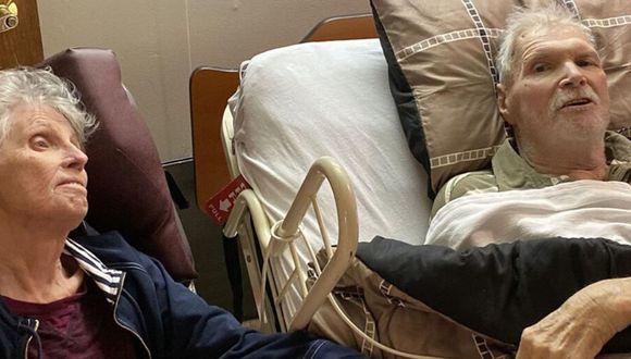Dos abuelos perdieron la vida el mismo día y tomados de la mano. (Foto: Facebook)