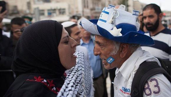 Los disturbios estallaron primero en Jerusalén Oriental. (Foto: Getty Images).