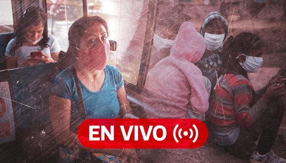 Coronavirus Perú EN VIVO | Últimas noticias, casos y muertos por Covid-19 en el día 97 del estado de emergencia, hoy lunes 22 de junio de 2020 | Foto: Diseño GEC