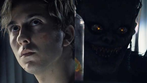 """Death Note"". Light Turner (Nat Wolff) aprenderá un nuevo truco del dios de la muerte Ryuk (Willem Dafoe). (Foto: Netflix)"