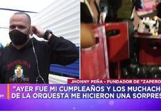 "Jhonny Peña hizo ""mea culpa"" tras intervención policial en reunión donde habían integrantes de Zaperoko"