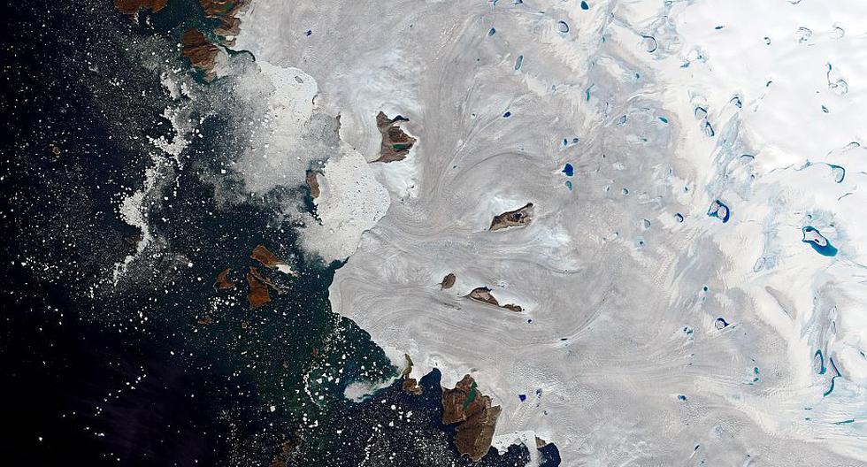 El derretimiento de los glaciares, a causa del cambio climático, aumenta los niveles de los océanos.  (Foto referencial: EFE)