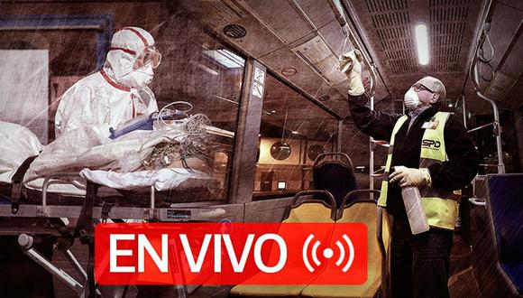 Coronavirus EN VIVO   Últimas noticias, cifras actualizadas de casos y muertos por Covid-19 en el mundo, hoy sábado 30 de mayo de 2020   Foto: Diseño GEC