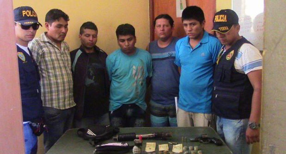 Piura: banda fue capturada tras asaltar a un camión de Movistar