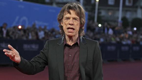 El cantante y productor británico Mick Jagger. (Foto: AFP)