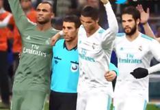 Facebook: árbitro celebra triunfo del Real Madrid en singular animación
