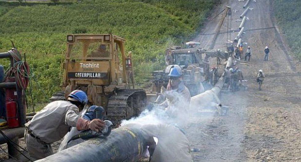 Ayacucho: detectan rotura de tubería de gas natural en Anco