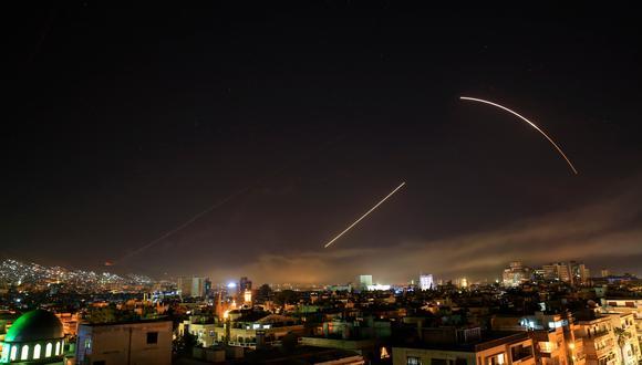 Ataque en Siria | Siria asegura que destruyó 70 misiles de Estados Unidos y sus aliados usando equipo militar soviético. (AP).