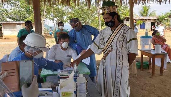 El ministro de Cultura anunció que, en dos semanas, aproximadamente el 20 de mayo, se iniciará una campaña informativa en lenguas originarias respecto a la vacunación contra el COVID-19. (Foto: Diresa Junín)