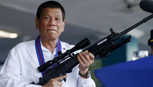 Filipinas: Rodrigo Duterte amenaza con crear escuadrón para matar comunistas. (AP)